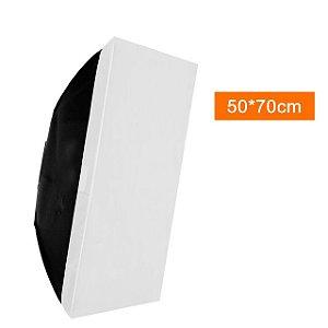Softbox 50x70 para linha Greika/Godox-Mini