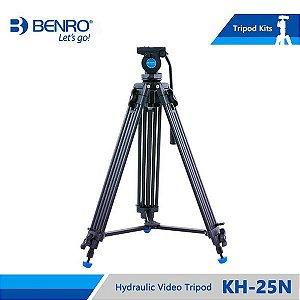Kit Tripé de Vídeo Benro Modelo KH25N