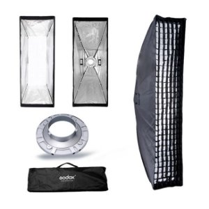 Softbox Striplight 30 x 140 com Grid para Godox / Greika