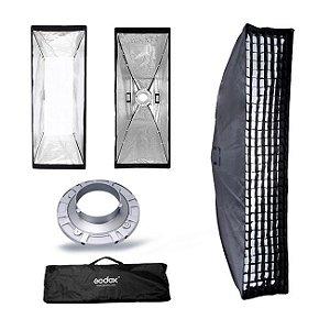 Softbox Striplight 30 x 140 com Grid Godox / Greika