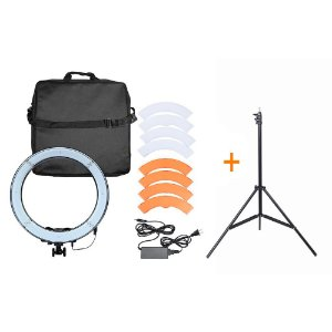 Kit Led Ring 18 + Tripé + Holder + Super Brinde