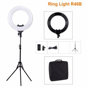 Kit Ring Light R48B com Tripé