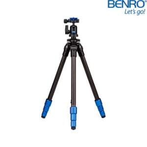 Tripé Slim Benro TSL08CN00 de Fibra de Carbono - suporta Até 4kg