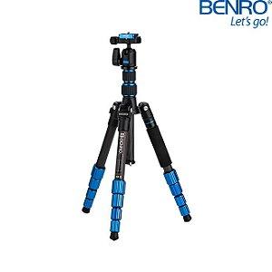 Tripé Slim Benro FSL09CN00 de Fibra de Carbono - suporta Até 4kg