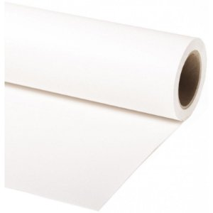 Fundo de Papel Branco 2,72 x 11m - Made USA