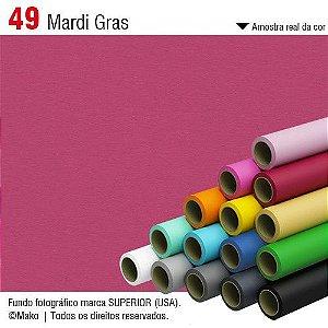 Fundo de Papel Mardi Grass 2,72 x 11m
