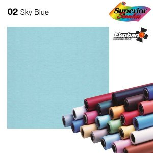 Fundo de Papel Sky Blue 2,72 x 11m