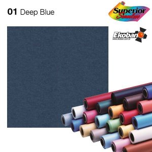 Fundo de Papel Deep Blue Superior Seamless 2,72 x 11m