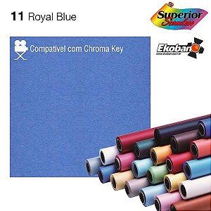 Fundo de Papel Royal Blue 2,72 x 11m