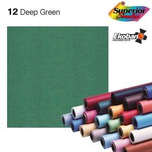 Fundo de Papel Deep Green 2,72 x 11m