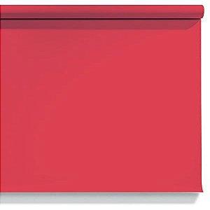 Fundo de Papel Scarlet 2,72 x 11m - 56 Made USA