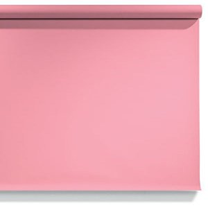 Fundo de Papel Carnation Pink 2,72 x 11m - 17 Made USA