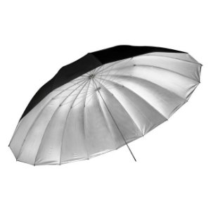 Sombrinha Large Umbrella Silver 180