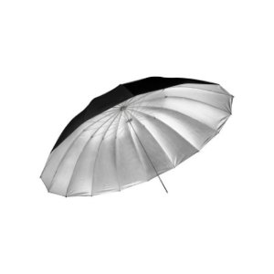 Sombrinha Large Umbrella Silver 150