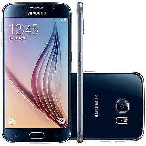 "Samsung Galaxy S6 32GB 4G Android 5.0 Tela 5.1"" Câmera 16MP - De Vitrine"