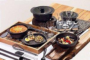 Conjunto de Panelas Oxford Cookwere Linea Nanquim - 5 Peças