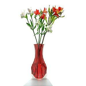 Vaso Vazu Lace Tica + Elegant Albert Red Vermelho