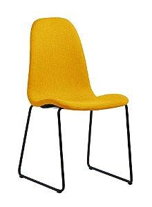 Cadeira de Jantar Chantilly na Cor Amarela