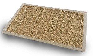 Tapete de Fibra Natural no Tamanho 50cm x 80cm