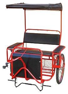 Bike-Chá (charrete) para 2 pessoas AL-58