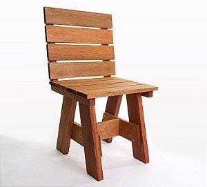 Cadeira Alabama com Encosto em Jatobá