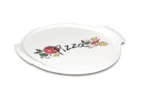 Forma Refratária em Porcelana hoje é Dia de Pizza