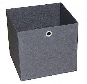 Caixa Organizadora Tamanho Grande na Cor Cinza