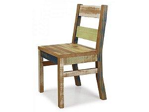 Cadeira Demolição - Retalhos Coloridos Ref.1598