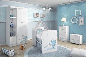 Ambiente Infantil Kids Ursinho Azu