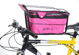 Cadeirinha Bike Dog Full - AL167 na cor Rosa