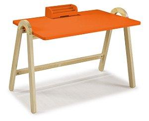 Escrivaninha Ringo na Cor laranja