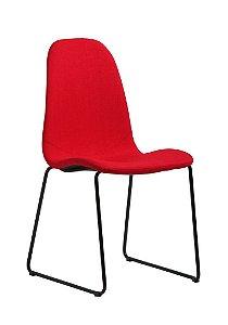 Cadeira de Jantar Chantilly na Cor Vermelha