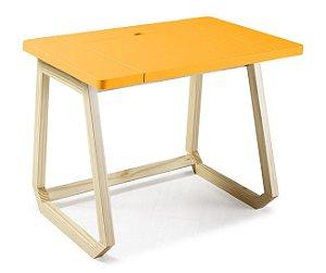 Escrivaninha Hush na Cor Amarelo
