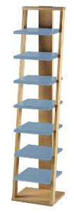 Prateleira Stairway na Cor Azul Serenata