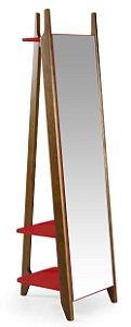 Espelho Stoka - Vermelho