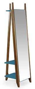 Espelho Stoka - Azul Turqueza