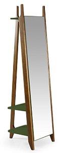 Espelho Stoka - Verde Oliva