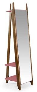 Espelho Stoka - Rosa New
