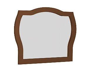 Espelho com Moldura Jungle - Marrom Chocolate