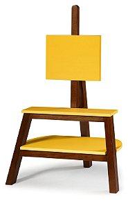 Rack Bowie na cor Amarelo
