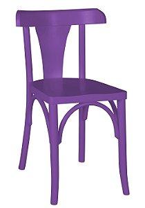 Cadeira Felice na Cor Roxa