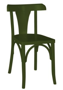 Cadeira Felice na Cor Verde Oliva