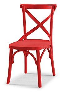 Cadeira X - Vermelha