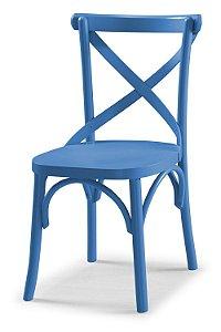 Cadeira X - Azul Turqueza