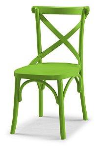 Cadeira X - Verde Limão