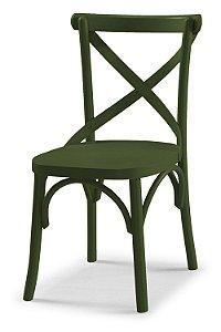 Cadeira X - Verde Oliva