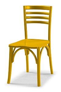 Cadeira Samara na Cor Amarela