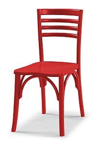 Cadeira Samara na Cor Vermelha