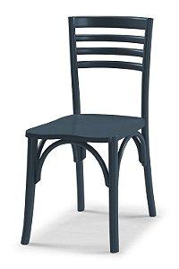 Cadeira Samara na Cor Azul marinho