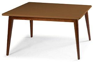 Mesa de Jantar Novita na Cor Marrom Claro em vários tamanhos confira: